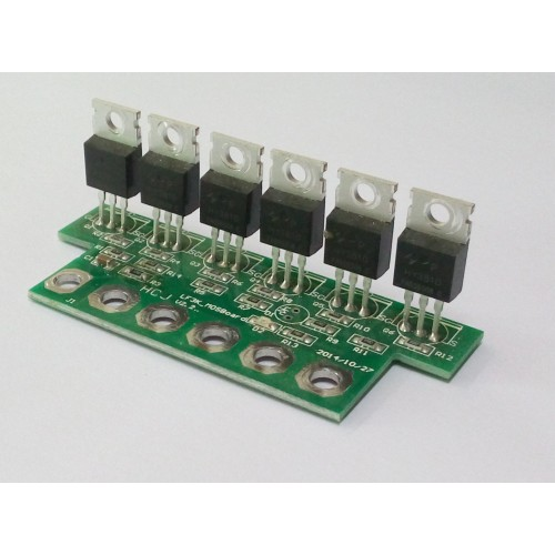 Mosfet Board for Power Jack 5000W LF PSW 24V DC/110V AC