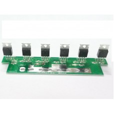 Mosfet board for 8000W LF SP-12V/220V