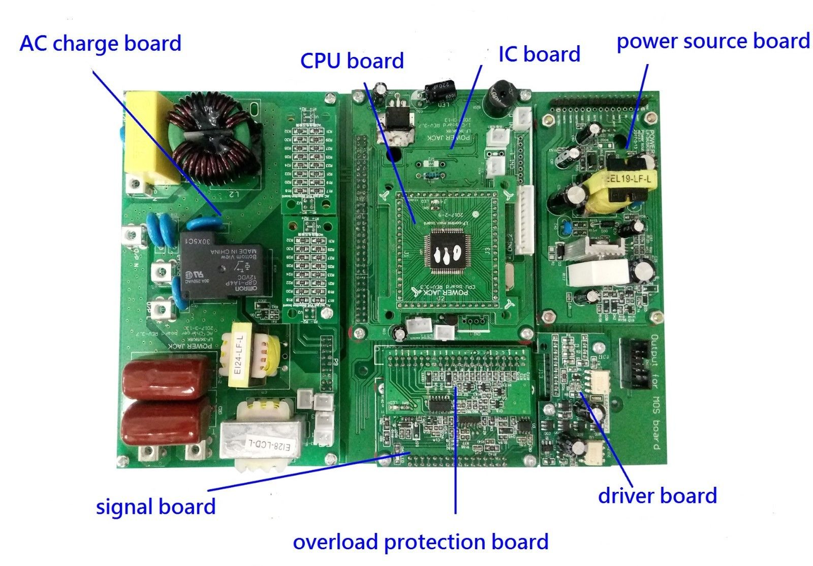 Control Board for 8000W LF SP 12V/220V 60Hz(with charger)